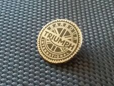 QUALITY HARD ENAMEL BARBOUR INTERNATIONAL TRIUMPH MOTORCYCLE  JACKET  PIN BADGE