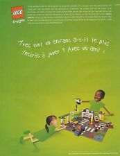 Publicité de presse Lego,   french press ad 2002