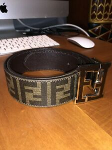 SELLING DESIGNER REVERSIBLE FENDI BELT SIZE 30W+