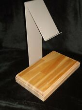Metal And Wood Book Display Stand counter top