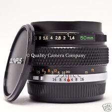 Olympus 50mm f/1.4 OM-System G.ZUIKO AUTO-S - GREAT OPTICS SOLID BUILD - SUPERB!
