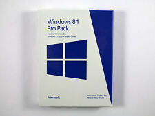 Microsoft Windows 8.1 Pro Pack - 32 / 64 Bit - DE/EN/FR + Multil. - RETAIL - NEU