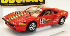 Voitures de courses miniatures rouge Ferrari 1:24