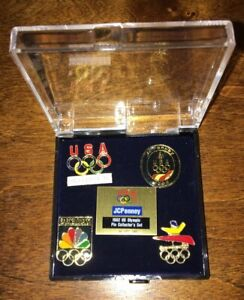 1992 Barcelona Olympic Collector Pins