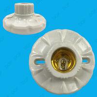 E27 Edison Screw Cap Socket, Light Bulb Holder Fitting,  ES Lamp Fixing Base