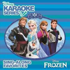 KARAOKE - DISNEY SING-ALONG: FROZEN NEW CD