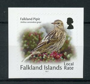 Falkland Islands Small Birds on Stamps 2017 MNH Local Rate Pipit 1v S/A
