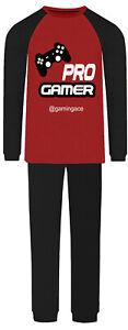 Jujak Personalised Gaming Pyjamas Pro Gamer Pjs Cotton