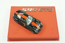 1/43 BBR FERRARI 599 GTO GLOSS BLACK/RED MEDIUM DELUXE RED BASE LE 10PC MR AS IS