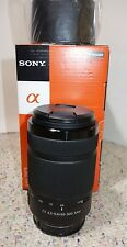 Sony DT 55-300mm F4.5-5.6 SAM Lens for A-mount Camera α58 α77 α65 NEW