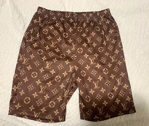 Womens Casual Biker Shorts Summer S-XL Comfy Stretchy Trendy Brown walking