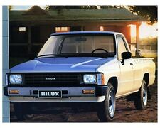 1986 Toyota HiLux Pickup Truck Factory Photo ca4094