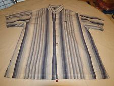 Ecko Unltd. The Knute blue L cotton short sleeve button up shirt casual EUC @