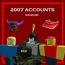 [BEST QUALITY] ROBLOX 2007 ACCOUNT (RANDOM) *READ DESCRIPTION*