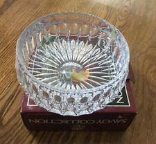"Bavarian Royal Crystal - Savoy Collection Fruit Bowl, 7 1/2"" NIB 24% Full Lead"