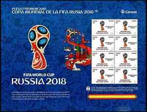 Spain 2018 Sport, Soccer, Football, FIFA World Cup In Russia MNH**