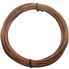 UL-1007 1Pin 18AWG 3Meter Brown Cable Cord Stranded Flexible Electric Power Wire