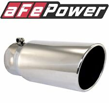 AFE Filters 49T30404-P121 3 304 Stainless Steel Exhaust Tip Polished
