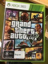 Grand theft Auto V GTA 5 Xbox 360