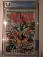 Marvel Age Annual #4 1988 CGC 9.8 Arthur Adams Wolverine Patch X-Men Joe Fixit