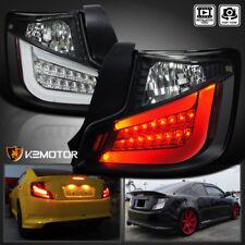 JDM Black 2011-2013 Scion tC LED Tail Lights Rear Brake Lamps Left+Right