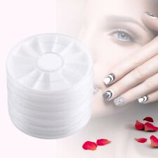 Empty Storage Case Wheels Box Container For Nail Art Beads Gem Glitter