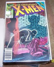 Uncanny X-Men comic # 196  1985, Marvel secret wars wolverine beyonder