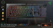 Razer Blackwidow Chroma V2 Mécanique Gamingtastatur Orange Switches Qwerty Neuf