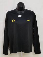 NEW Oregon DUCKS Acro & Tumbling TEAM ISSUED Nike LONG SLEEVE SHIRT  Women's M