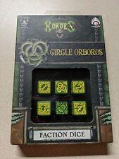 Warmachine & Hordes Tokens and Dice Lot - Minions Mercenaries Circle Orboros