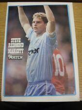 1988/1989 Revista Foto Autografiada: Manchester City-Redmond, Steve. si Thi