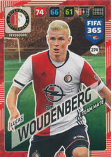 Panini Adrenalyn XL FIFA 365 2018 #274 Lucas Woudenberg Feyenoord Rotterdam