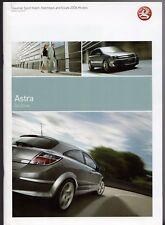 Vauxhall Astra Hatchback Sport Hatch Estate 2005-06 UK Market Sales Brochure