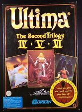 Ultima: The Second Trilogy (PC, 1992) Complete in Box [CLOTH MAP VERSION]