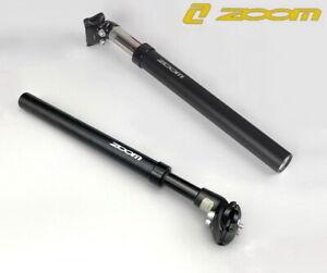 Black ZOOM MTB Bike 27.2/31.6mm Seatpost spring Suspension 40/50mm Travel