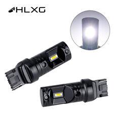 2X 7440 W21W Car Fog Light CSP led bulbs Auto Signal Lamp 6500K White 1860 NEW