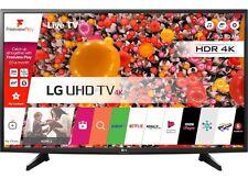 "LG 49UH610V 49"" Smart Ultra HDR Pro 4K LED TV Wi-Fi & Freeview HD & Freesat HD"
