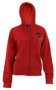 Gen 2 NCAA Women's UNLV Rebels Team Logo Hoodie, Red