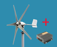 Windgenerator Windenergie Windcraftanlage Windrad 450 W mit Laderegler