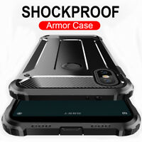 360° Ultra Protective Armor Case for iPhone XS Max 8 Plus Rugged Bumper Cover