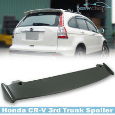 Painted For Honda CR-V CRV Rear Trunk Spoiler Wing Mugen Type 3rd 2007 2011