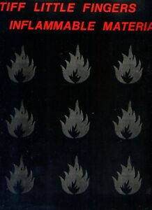 STIFF LITTLE FINGER -  Inflammable material - LP (33 TOURS) -