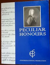 Peculiar Honours Congregational Federation Hymn Writing Songs Scarce Softcover