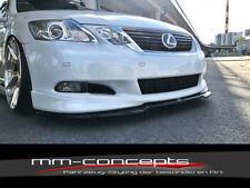 CUP Spoilerlippe CARBON Lexus GS 300 MK3 Front Lippe Schwert Ansatz Version 2