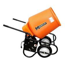 Kushlan Products 350W 3.5 Cf 3/4 Hp 120 Volt Belt Driven Concrete Mixer