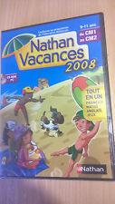 nathan vacances du CM1 au CM21 cahier de vacances pc