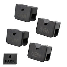 Abn Rubber Slotted Jack Stand Pads Pinch Weld Jack Adapter 4 Pack 2 To 3 Ton