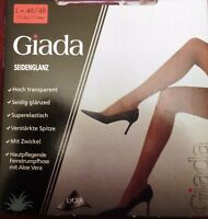 Giada Damen-Feinstrumpfhose PURE ELEGANCE  schwarz Gr. 46-48