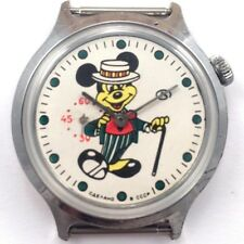 Extremely Rare Vintage soviet VOSTOK 'MICKEY MOUSE' watch USSR *US SELLER* #895
