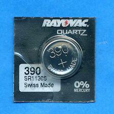 4 x 390 SR1130SW V390 D390 SR54 1.55 V Oxyde D'argent Montre Piles RAYOVAC